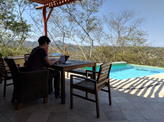 Working in Sayulita