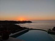 Sunset at Casa Roca