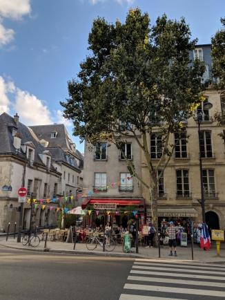 Near Notre-Dame de Paris